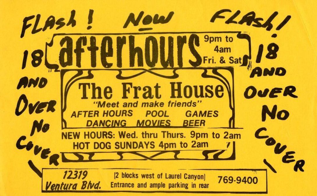 The Frat House Studio City